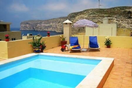 11. Villa apartment one Bedroom w/ Pool - Xlendi