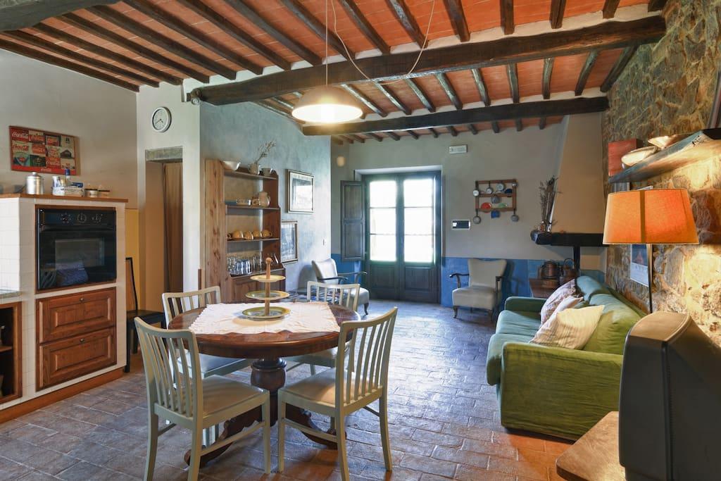 ingresso appartamento LA TABACCAIA 4 posti