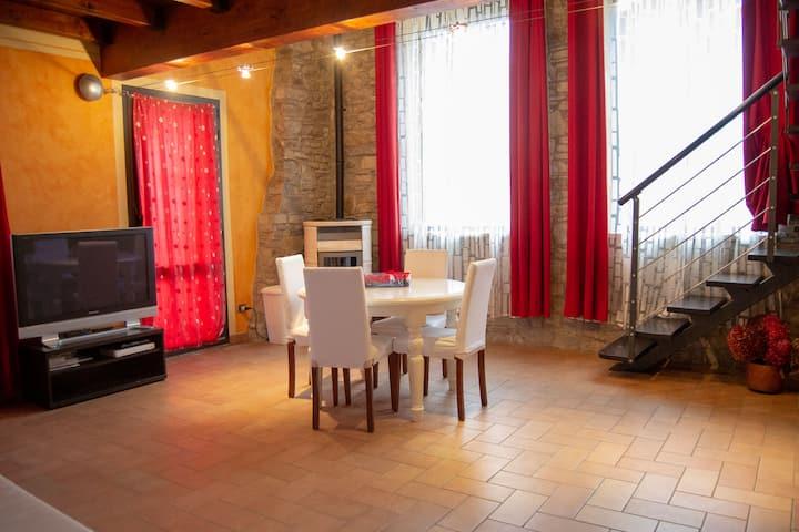 L'Angolo di Verlano - Appartamento con cucina I Papaveri