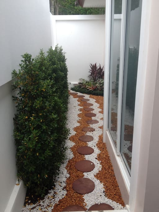 Well landscaped!
