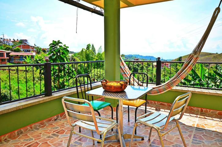 Relax & explore the coffee region