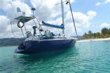 Experiencia: Navega en velero x la Bahía de Samaná