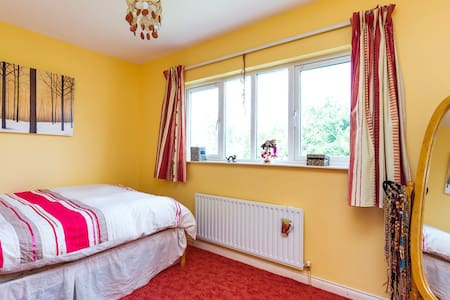 Very comfortable double bed in a warm small room - Castleknock