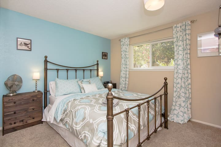 Comfy private room central location - Mountain View - Daire