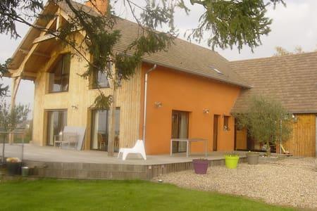 Maison des grandes terres - La Motte-Saint-Jean - House
