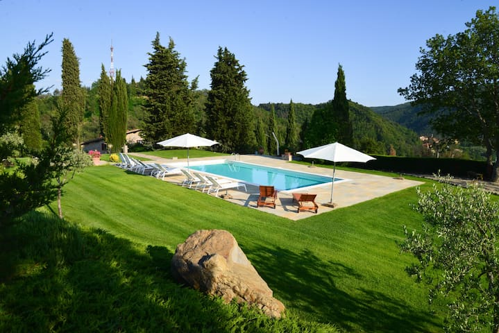 Typical Tuscan country house  - Greve in Chianti - Haus