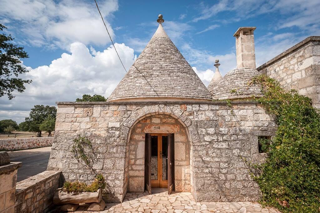 I trulli, la parte più antica della casa