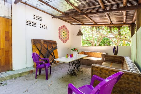 Nature & dog-lovers experience in Bahia: Suite Rió - Arembepe - Ev