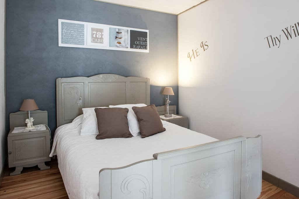 Chambre la rochelle marais poitevin chambre bleue for Location chambre la rochelle