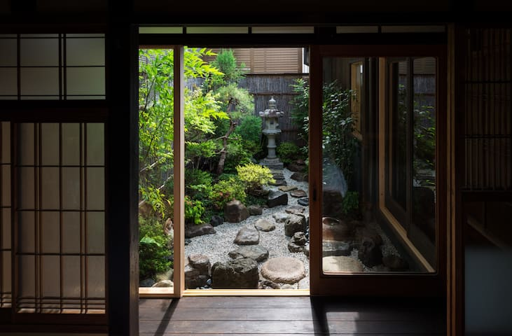PERFECT Traditional Japanese House -Free Wifi - 京都市中京区 - Casa