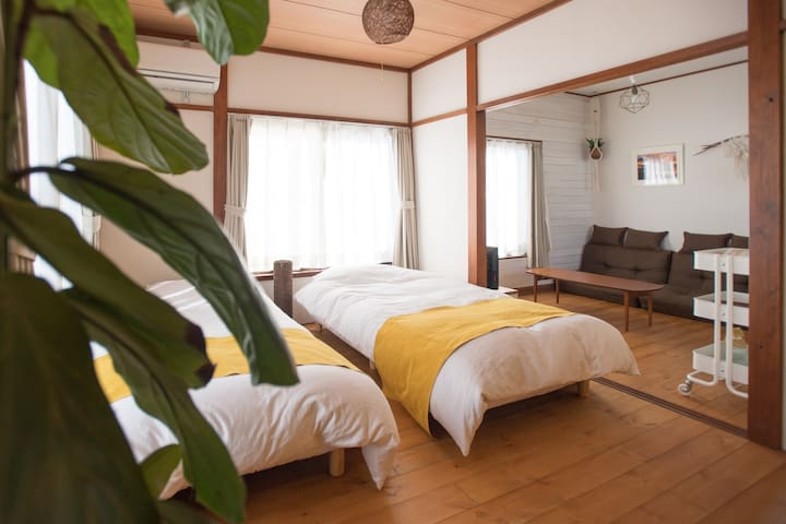 "1min to the beach! Vacation House ""Pine Tree"""