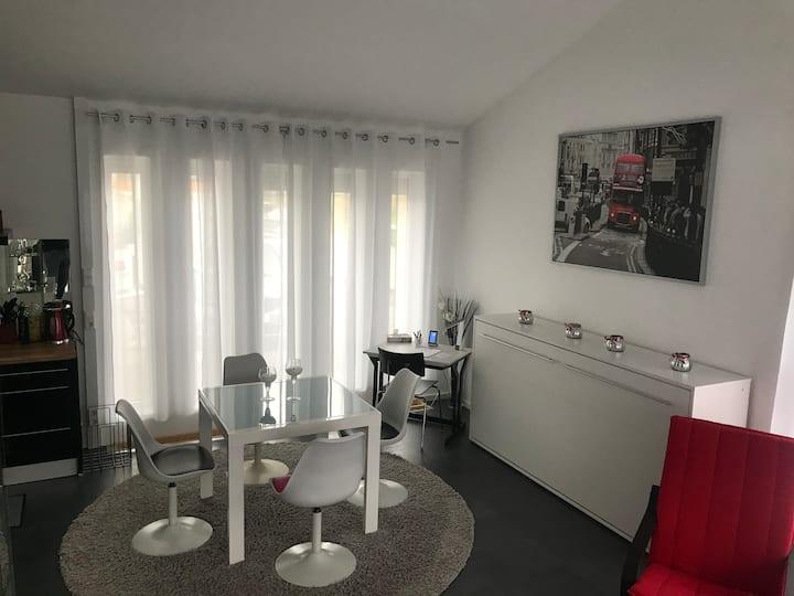 Gemütlich, moderne Wohnung 65 qm, an der Steinlach