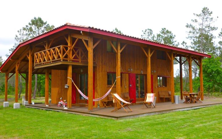 Superbe Villa en bois sur 5 000 m2