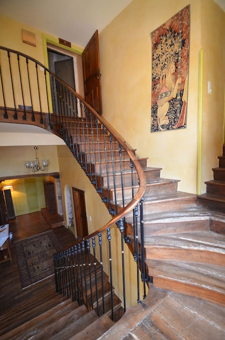 Renovated staircase and landing