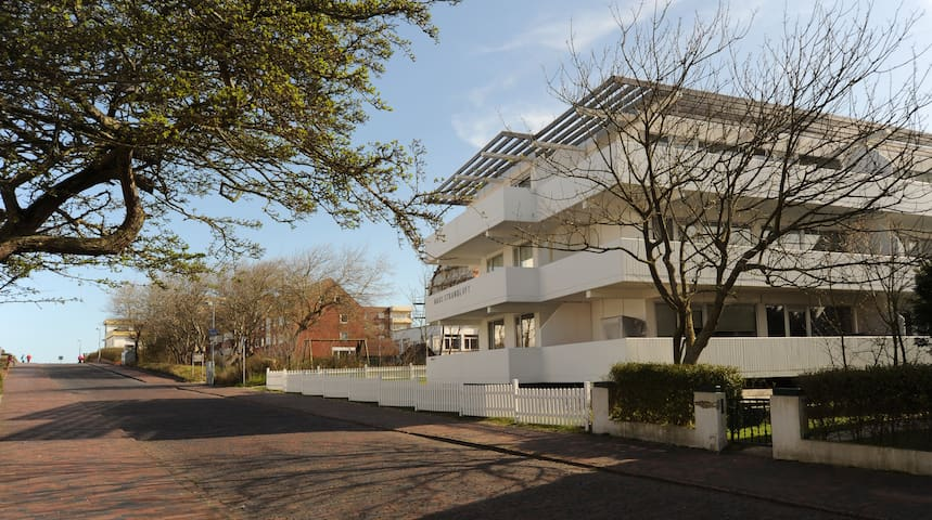 lichtdurchflutete Ferienwohnung  - Wangerooge - Appartamento