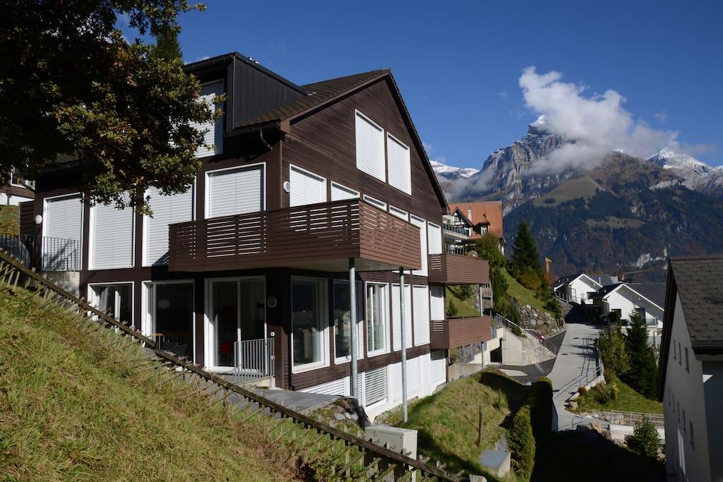 Engelberg luxury apartment condomini in affitto a for Piani di casa del ranch vivente del sud