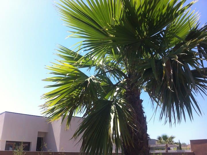 Belle villa: plage, jardin, parking