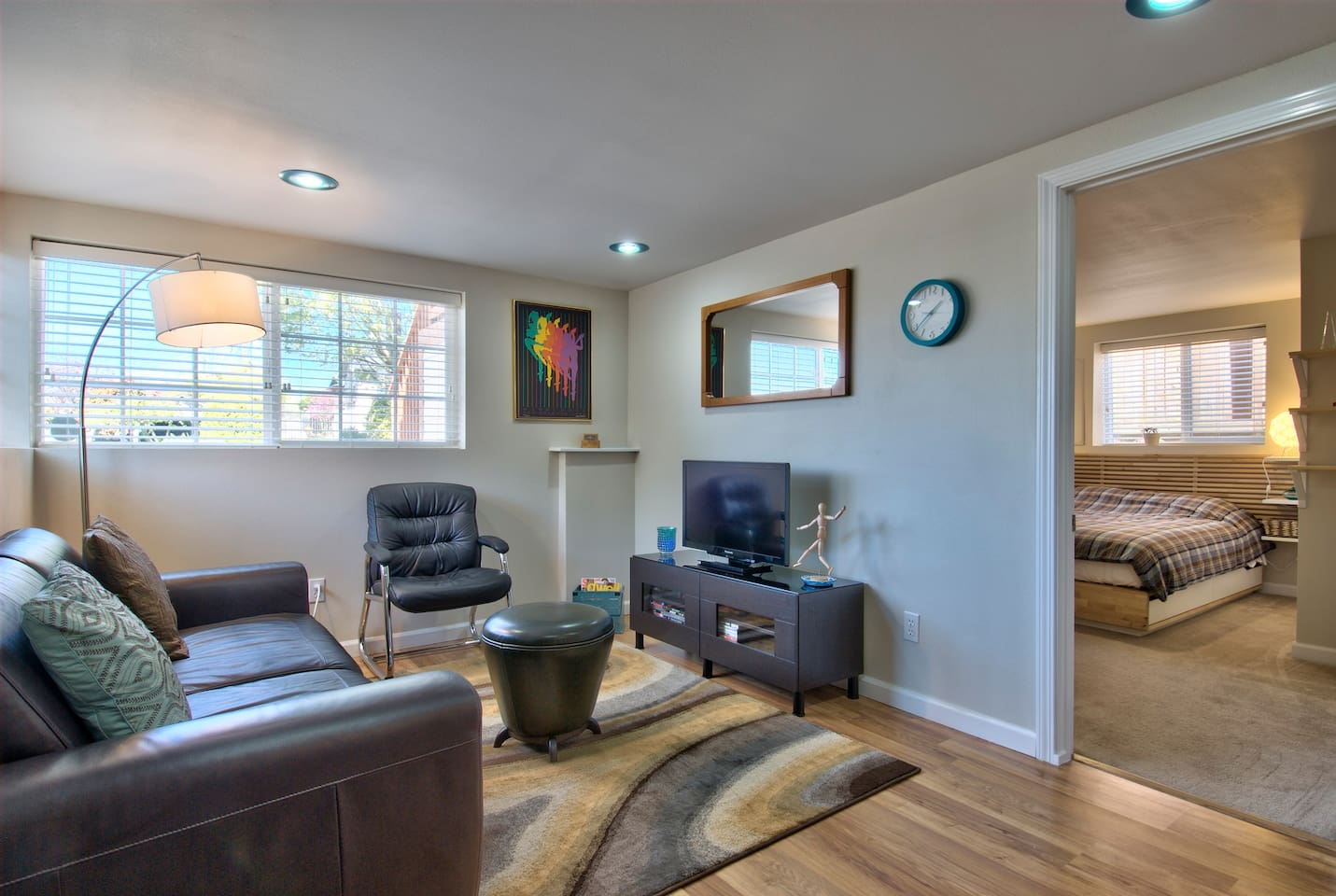 Freshly renovated 1930 home. Central yet peaceful location - close to I-5, I-90, downtown, sports venues.