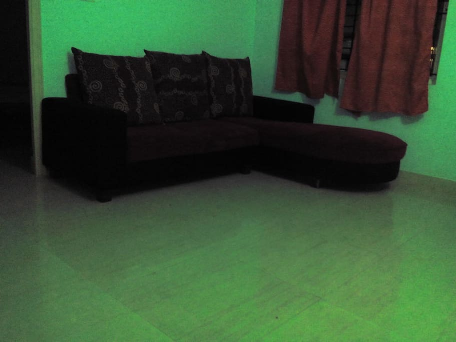 Living Room in one of the 2 bhk apartments