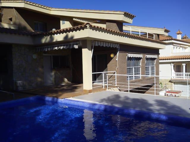 Magnifica villa en Planas del Rey - Les Planes del Rei - Huis