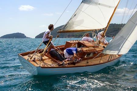 Fantasia - Barca d'epoca - Classic Boat - Fezzano