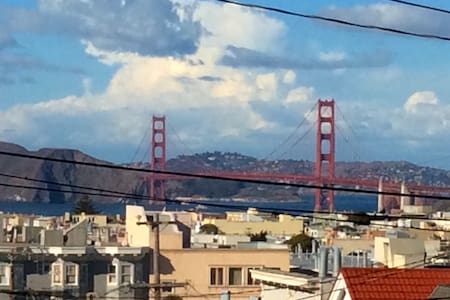 Golden Gate View 1 Bedroom House - San Francisco - House