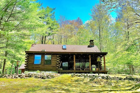 The Vermont Dream Cabin on 70 Private Acres