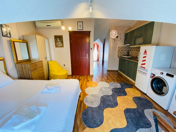 Yeşilköy Nature Hotel Apartments | Deluxe Room