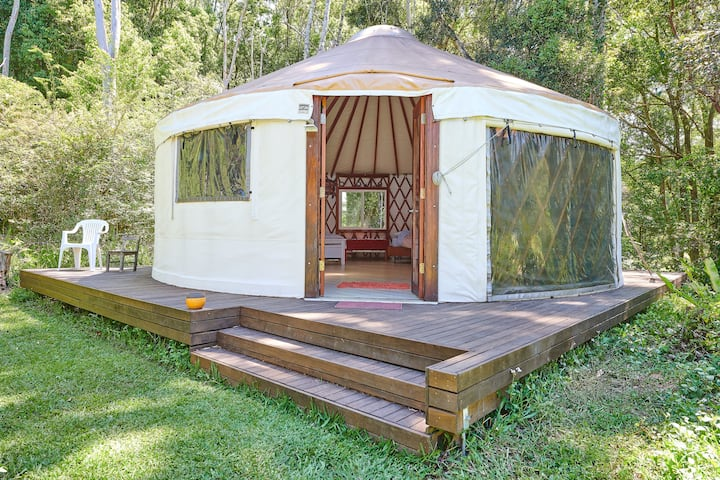 Sofia Yurt - Rainforest Retreat, Byron Hinterland