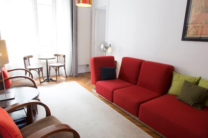Charming Apt.  2 bedrooms Bastille