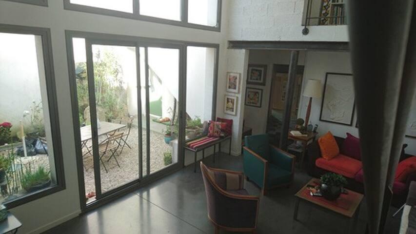 Une chambre en ville et en bord de mer - Saint-Nazaire - Loft