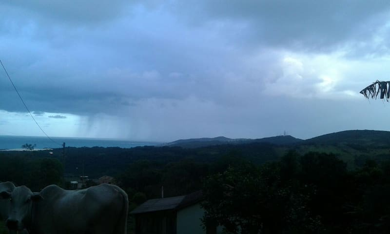 paisagem inesquecivel - Garopaba - Casa