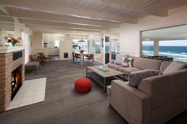Breathtaking Ocean View 2 BR 2.5 BA Beach House Occ up to 9 - Tides Pismo Beach