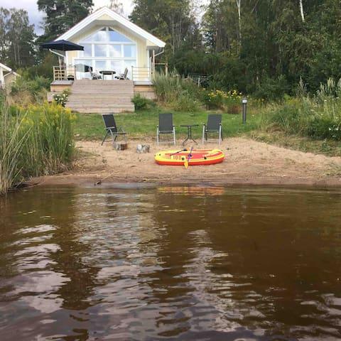 New Beach House on Lake Vänern, Karlstad, Värmland