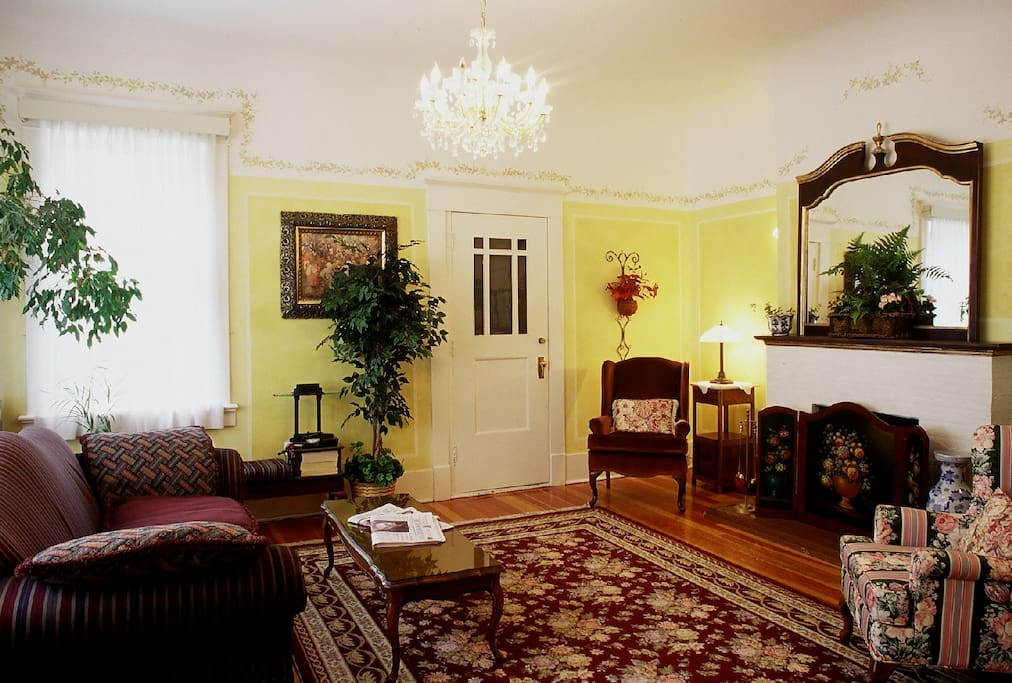 Our common area which guests can relax and watch TV.