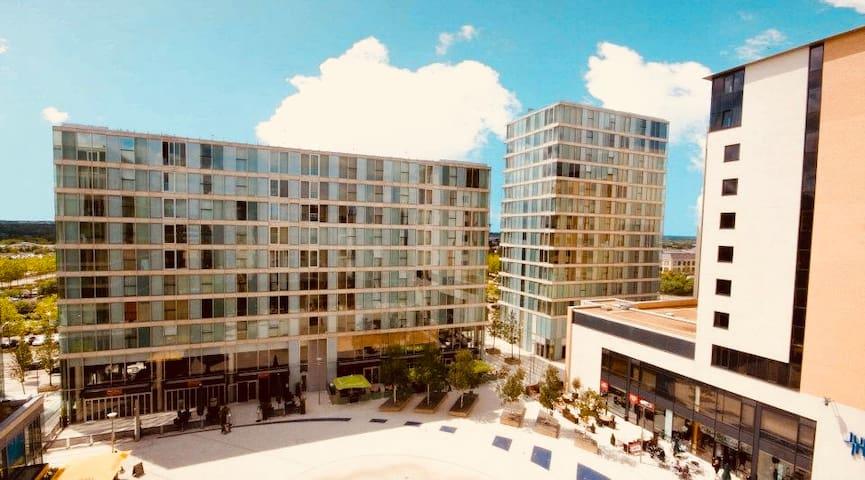 StayDeer  1 Bedroom Apartment In HUB, Central MK