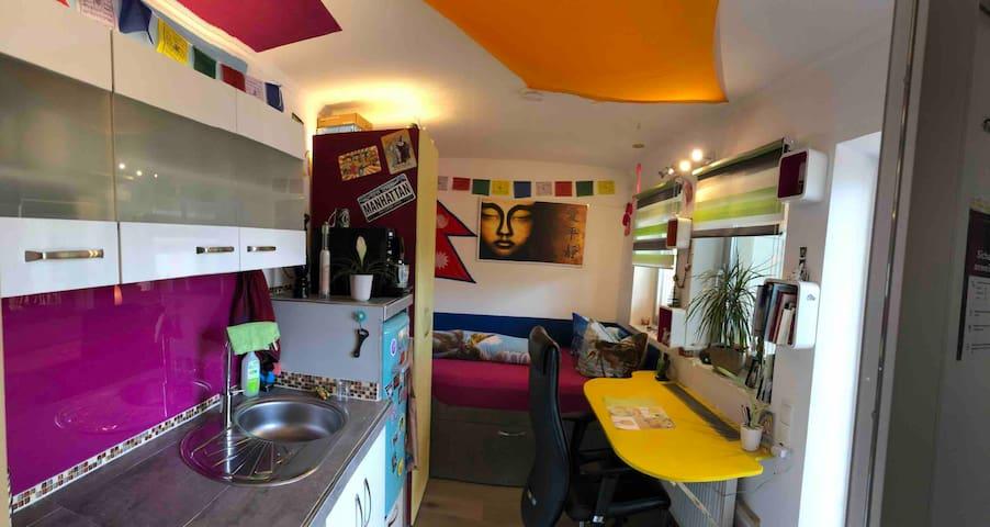 Bolivien vom Bad in die Wohnung