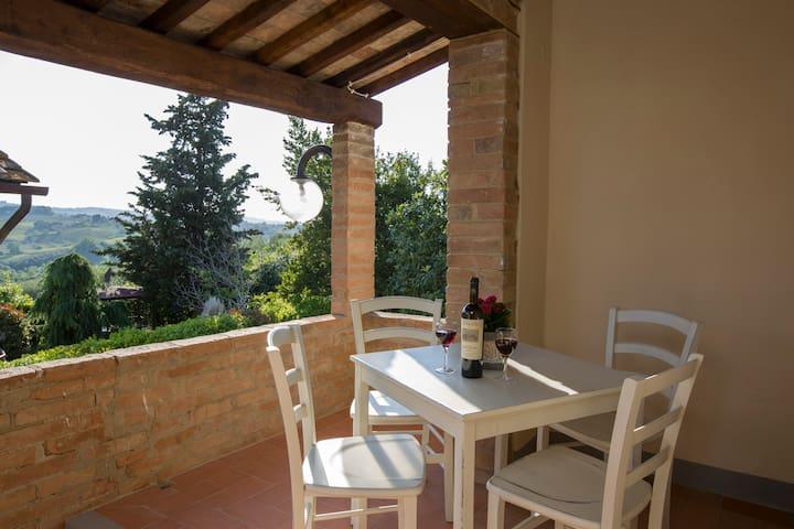 Monte 2° Appartamento Alloro - Gambassi Terme - Pis