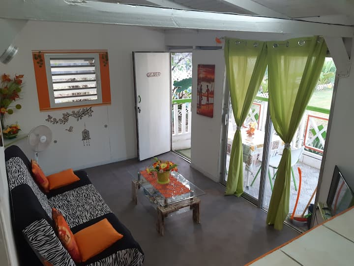 Location Bungalow « Aloes » Ste Anne, Gpe