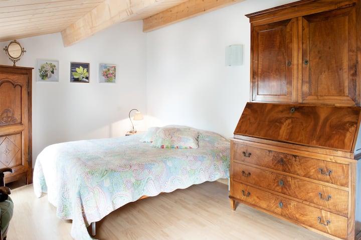 Chambre La Rochelle Marais Poitevin Chambre verte