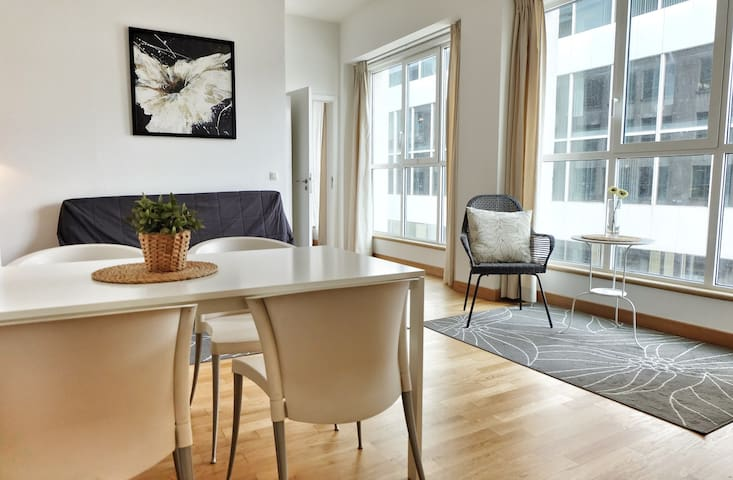 1Bedroom by the Grand Place& Opera!