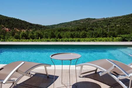Mas en Provence + piscine, 13pers - Bédoin - 단독주택