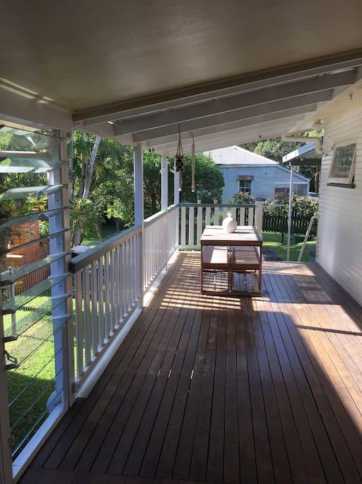 Entertaining deck