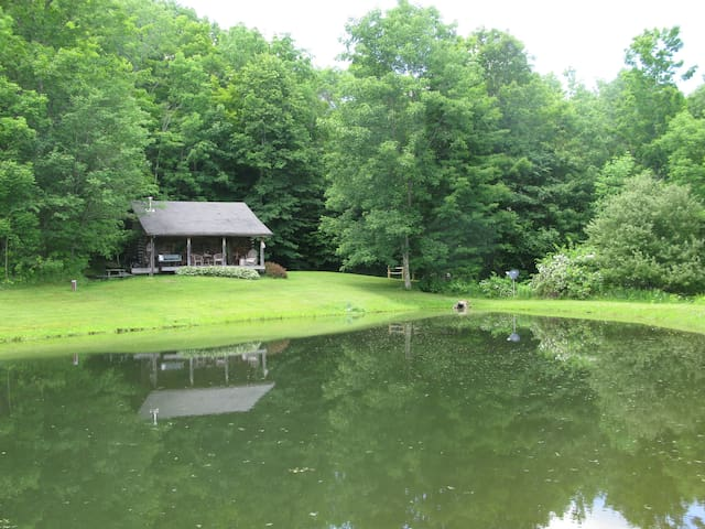 Cozy Cottage on Pond  - Great Valley - Rumah