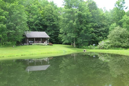 Cozy Cottage on Pond  - Great Valley - Hus