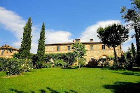 Capanneto, Casale con Piscina Siena - Monteroni d'Arbia