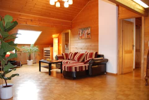 Cosy 2room App. in South munich with private Sauna