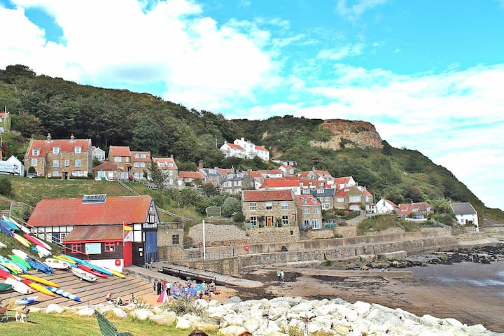 Charming former fisherman's cottage - Runswick Bay - Dům