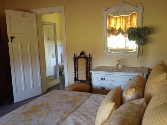 Your room through to ensuite