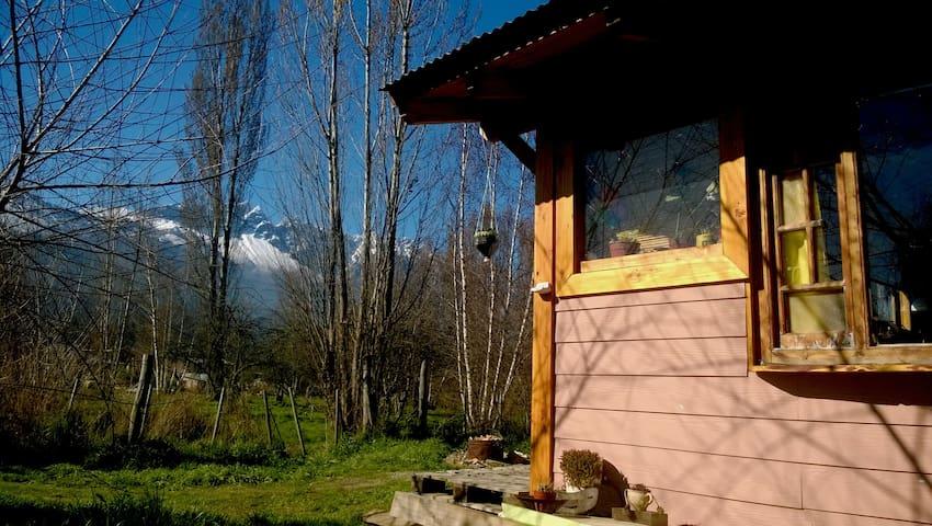 Cute house in El Bolson Patagonia – - El Bolsón - Blockhütte